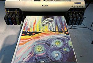 Узорак платна од А2 УВ штампача ВЕР-ЕХ4880УВ