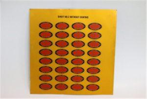 Штампање узорка Метал на А3 УВ штампачу ВЕР-Е2000УВ