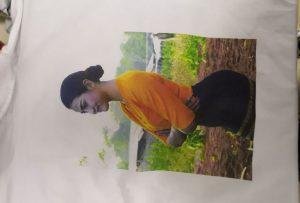 Т мајице за штампање узорка за Бурма клијента из штампача ВЕР-ЕП6090Т