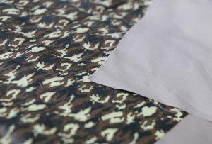 Пример 1 у текстилној штампи помоћу дигиталне текстилне машине за штампање ВЕР-ЕП7880Т